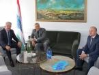Herceg s hrvatskim konzulom Babićem