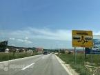 Na cestama na području Livna i Tomislavgrada jaki udari vjetra