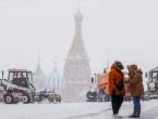 Snježna oluja u Moskvi, temperatura i do minus 23