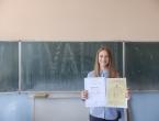 Katarina Bošnjak učenica generacije