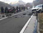 Mostar: U prometnoj nesreći u Drežnici poginule dvije osobe