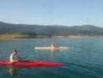 Hrvatski kajakaši na pripremama u Rami