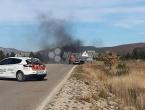 Blidinje: U potpunosti izgorio automobil