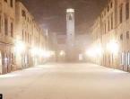 Dubrovnik se probudio pod snijegom