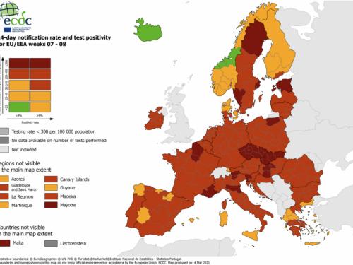 EU počinje označavati tamnocrvene zone na karti kako bi se spriječila putovanja koja nisu nužna