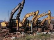 Bageri ravnaju 20.000 četvornih metara na kojima počinje gradnja tvornice Braća Pivac