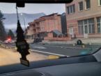 Prometna nesreća kod Konjica, dijelovi automobila rasuti po cesti