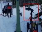 Video: Na kupreškom skijalištu za dlaku izbjegnuta tragedija