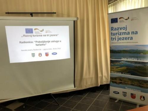 ''Razvoj turizma na tri jezera'' prezentacija rezultata u utorak na Danima šljive