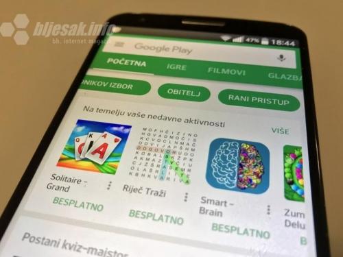 Studija otkrila 2000 opasnih aplikacija na Google Playu