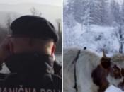 Granični policajci i SIPA spriječili krijumčarenje krava iz Srbije