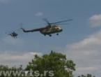 Na mađarsko-srpskoj granici: Stigli helikopteri, dronovi, borbena vozila...