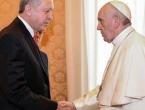 Erdogan se susreo s Papom Franjom; razgovarali o Jeruzalemu, islamofobiji, terorizmu…