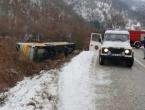 Više mrtvih i ozlijeđenih u prevrtanju autobusa između Nevesinja i Gacka