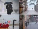 FOTO  Split ovakav kišni kaos ne pamti još od 1975. godine, vrlo rijetka pojava i na Mosoru!