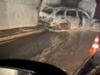 Spaljen automobil suca utakmice Velež-Borac kod Jablanice, suci fizički napadnuti