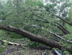 HNŽ: Nevrijeme rušilo stabla, stanovništvo ostalo bez struje