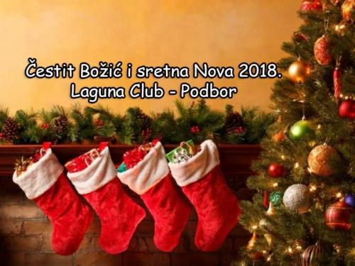 Božićna čestitka: Laguna Club - Podbor