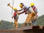 Povećana potražnja za radnicima u proizvodnji, prijevozu i građevini