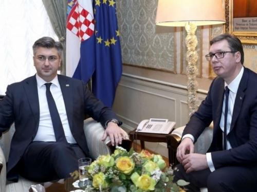 Plenković: Nema s Vučićem toplo-hladno