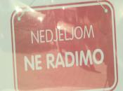 Nedjelja u Kiseljaku neradna za trgovine, kladionice i internet klubove