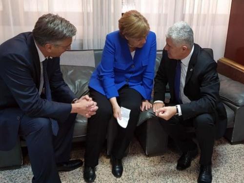 Čović molio za kandidatski status bez uvjeta