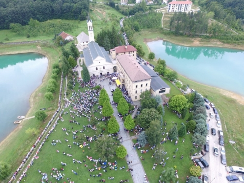 FOTO/VIDEO: Velika Gospa u župi Rama Šćit 2018.
