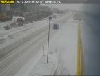 Snijeg stvara probleme na cestama u unutrašnjosti BiH