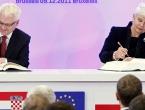 Josipović i Kosor u ime Hrvatske potpisali Ugovor o pristupanju s EU