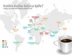 Koliko košta šalica kave u svijetu