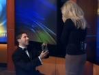 Zaprosio djevojku dok je vodila TV prognozu