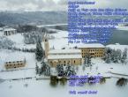 Božićna čestitka: Franjevački samostan Rama - Šćit