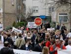 Prosvjedna šetnja doktora HNŽ-a: Vaš život je u našim rukama