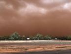 Ogromna pješčana oluja poharala Australiju