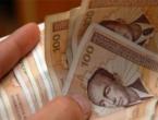 Prosječna plaća u FBiH iznosi 955 KM, u RS-u 944, a Distriktu 896 KM