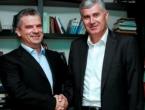 Čović i Radončić danas o krizi u vlasti