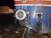 Jablanica-Mostar: Vlak naletio na odron, oštećena lokomotiva