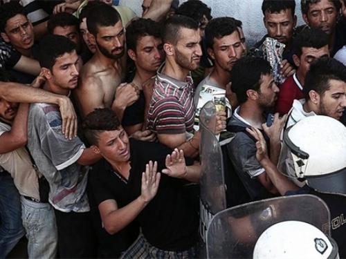 Izbjeglice u kamionu iz BiH