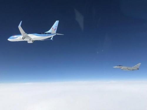 NATO avioni u prvoj misiji zaštite crnogorskog neba