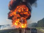 Nesreća na hrvatskoj autocesti: Sudarilo se nekoliko automobila, kamioni gore