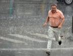 Stižu kiša i pljuskovi