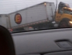 VIDEO: Kamiondžija je prekasno stao na kočnicu
