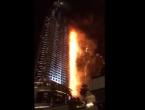 Dubai: Veliki požar tijekom dočeka Nove godine na hotelu visokom 302 metra