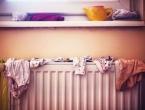 Sušenjem rublja na radijatoru možemo ugroziti zdravlje