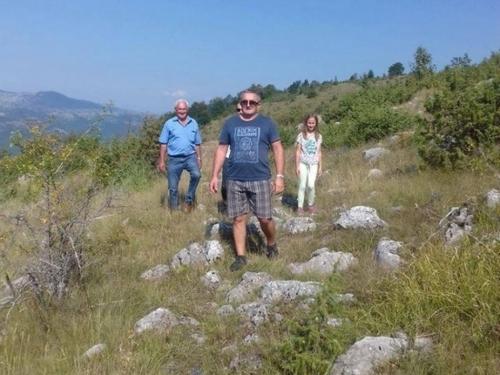 Foto: Misa u Gornjim Višnjanima, selu bez stanovnika