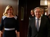 Kolinda i Guterres razgovarali o položaju Hrvata u BiH