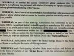 Europska komisija objavila ugovor s AstraZenecom, puno toga je zatamnjeno