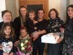 Tomislavgrad: Obitelj Mioč koja je darovala organe prerano preminule kćeri dobila curicu