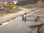 Vide se obrisi nove zgrade Klinike za dječje bolesti SKB-a Mostar