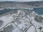 Žuti meteoalarm zbog snijega, niskih temperatura i vjetra